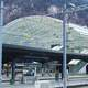 Railway and Post bus station in Chur, Switzerland