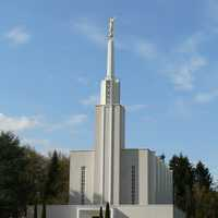 The LDS temple near Zollikofen, Switzerland