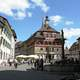 Town Hall building and plaza in Stein am Rhein, Switzerland