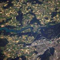 View of Bern of the ISS in Switzerland