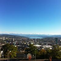 Wide Angle View of Zurich
