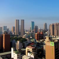 Skyline of Taichung in Taiwan