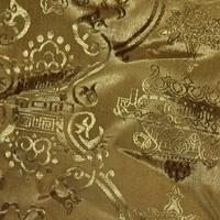 Gold Chinese Fabric Texture