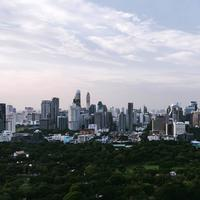 Bangkok City Skyline in Thailand