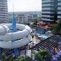 Central BangNa, rooftop water park in Bangkok, Thailand