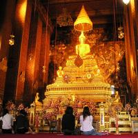 Inside the Temple in Bangkok, Temple