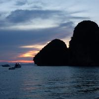 Islands at Dusk in Thailand