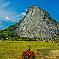 Mountain and rock landscape in Thailand