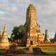 The ruins of Wat Chaiwatthanaram in Ayutthaya, Thailand