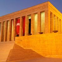 Mausoleum and tomb structure in Ankara, Turkey
