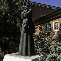 Statue of Leyla Gencer in Ankara, Turkey