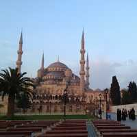 Grand buildings and Architecture in Istanbul, Turkey