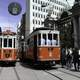 Old Tram system in Istanbul, Turkey