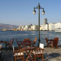 Pasaport Quay view in Izmir, Turkey