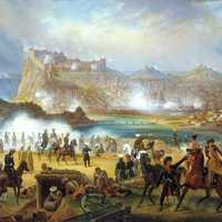 1828 Russian siege of Karsin, Turkey