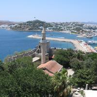 Bodrum Castle Mosque in Turkey