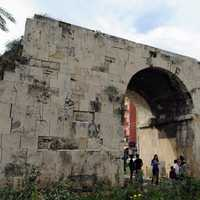 Cleopatra Gate in Tarsus in Turkey