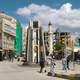Kilis City Center with clouds over the city, Turkey