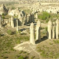 Landscape of Cappadocia in Turkey