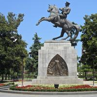 Statue of Atatürk in Samsun, Turkey