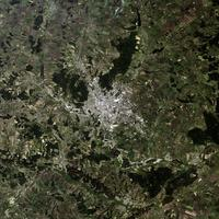 Satellite Image of Kharkiv, Ukraine