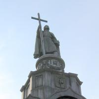 St. Volodymyr statue and monument in Kiev, Ukraine