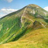 Mountain landscape in Ukraine