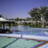 Emirate Palace swimming pool in Abu Dhabi, United Arab Emirates - UAE