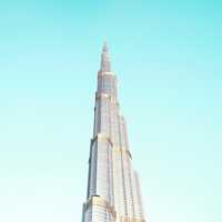 Burj Khalifa in Dubai, United Arab Emirates - UAE