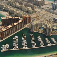 Dubai Marina in the United Arab Emirates - UAE