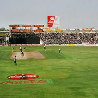 One Day International at Sharjah in 1998 in the United Arab Emirates