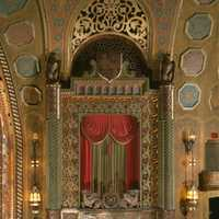 Organ Screen in the Alabama Theatre in Birmingham