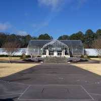 The Conservatory during winter in Birmingham, Alabama