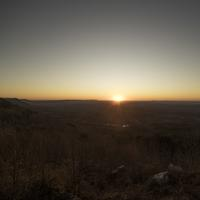 Scenic Sunset over the Hills, Cheaha State Park