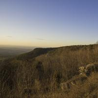 Sunset over the Forest and Hills at Cheaha State Park