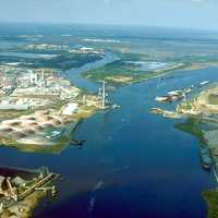 Port of Mobile at Chickasaw Creek in Mobile, Alabama