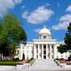 Frontal View of the Alabama State Capital in Montgomery