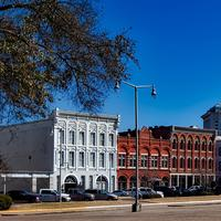 Street View and road in Montgomery, Alabama