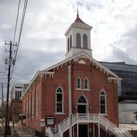 The Dexter Avenue King Memorial Baptist Church in Montgomery, Alabama
