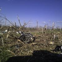 A mess of Tornado Damage in Alabama