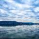 Clouds over the lake at Lake Guntersville, Alabama