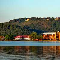 Lake Guntersville landscape in Alabama