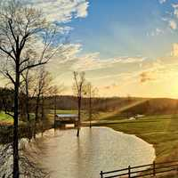 Mathis Creek Farms landscape in Alabama