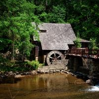 Mill House on the River in Alabama