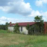 Old Abandoned farmhouse in Alabama
