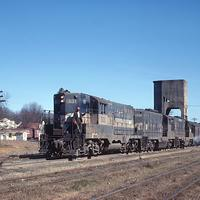 Western Railway of Alabama train
