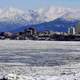 Anchorage Skyline in Alaska