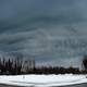Dark Clouds Above Anchorage, Alaska