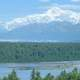 View of Denali from Denali National Park, Alaska