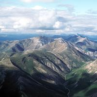 Aerial View of Gates of Arctic National Park, Alaska